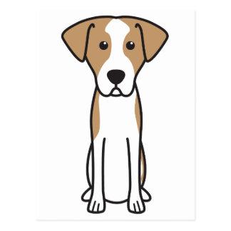Istrian kurzhaariger Jagdhund-HundeCartoon Postkarte