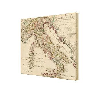 Italien 3 gespannte galerie drucke