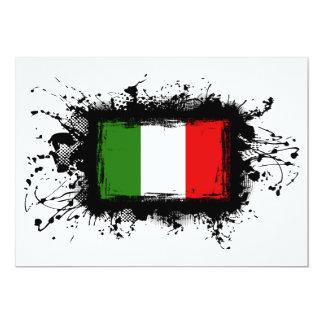 Italien-Flagge Karte