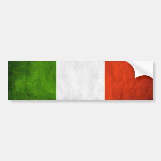 Italien-Flaggen-Autoaufkleber Autoaufkleber