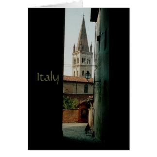 Italien Grußkarte