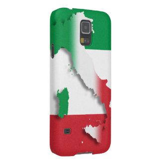 Italien-Italiener-Flagge Samsung Galaxy S5 Hüllen
