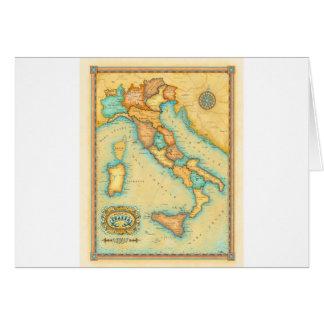 Italien-Karte Karte