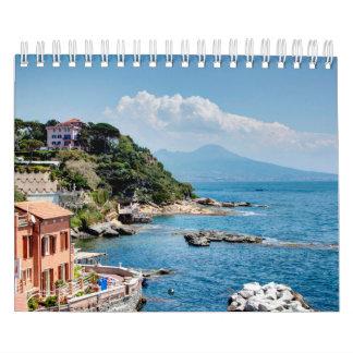 Italien-Landschaftsjahreszeiten Abreißkalender