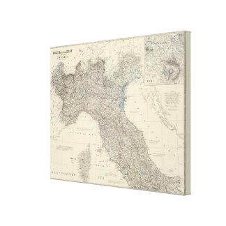 Italien N, zentral Gespannte Galeriedrucke