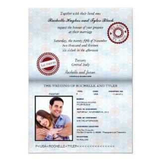 Italien-Pass, der Invitation_custom entriegelt Karte