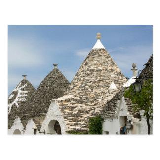 Italien, Puglia, Alberobello, Terra dei Trulli, Postkarte