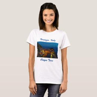 Italien-T - Shirt - Vernazza, Cinque Terre Dorf