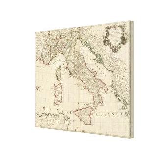 Italien und Slowenien Leinwanddrucke
