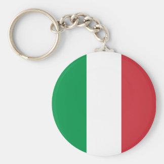 Italiener färbt Keychain Standard Runder Schlüsselanhänger