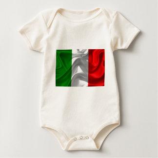 ItalienFlagge Baby Strampler