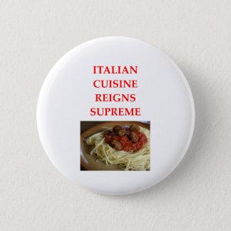 italienisch runder button 5,7 cm