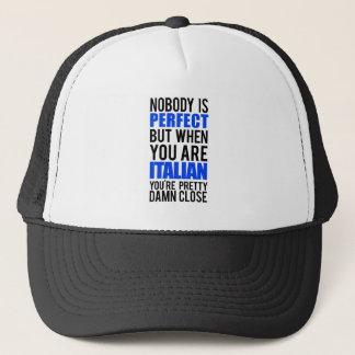 Italienisch Truckerkappe