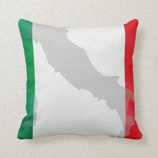 italienische Flagge und Italien Kissen