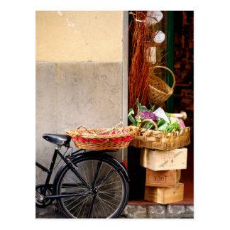 Italienische Geschäfts-Front Postkarte
