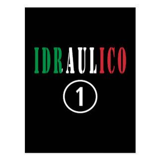 Italienische Klempner: Idraulico Numero UNO Postkarte