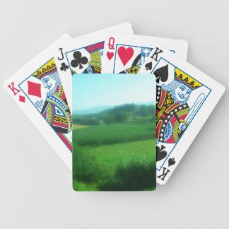 Italienische Landschaft Pokerkarten