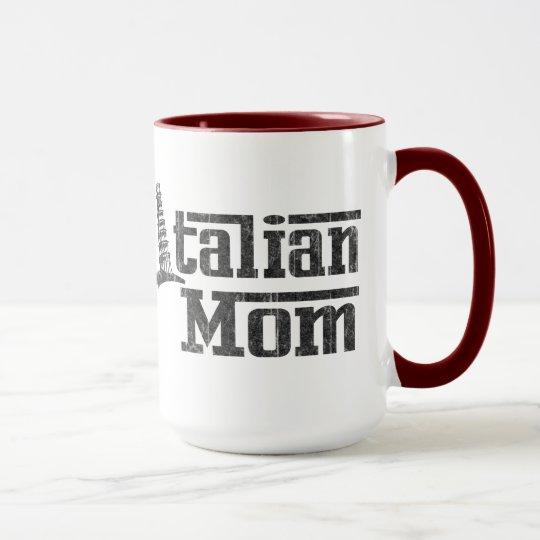 Italienische Mamma-Kaffee-Tasse Tasse