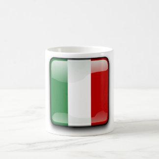 Italienische Polierflagge Tasse