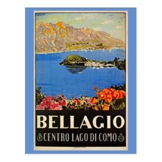 Italienische Reiseanzeige Vintage Zwanzigerjahre Postkarten