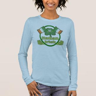 Italienischen Iren-St Patrick T - Shirt