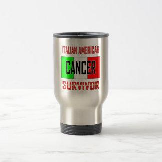 Italienischer amerikanischer Krebs-Überlebender Reisebecher