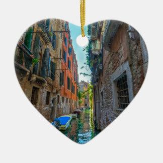 Italienischer Fluss Keramik Ornament