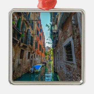 Italienischer Fluss Silbernes Ornament