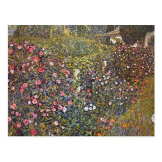 Italienischer Garten durch Gustav Klimt Postkarte