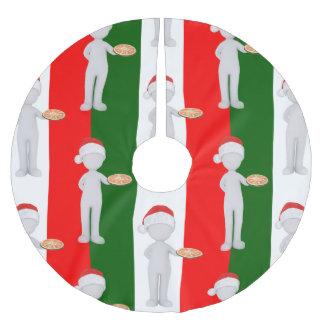 italienischer Weihnachtsweihnachtsbaumrock Polyester Weihnachtsbaumdecke