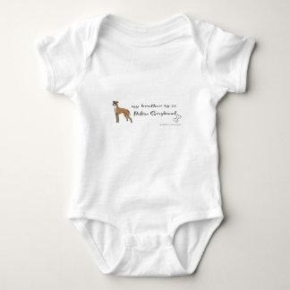 italienischer Windhund Baby Strampler