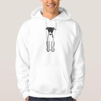 Italienischer Windhund-HundeCartoon Hoodie
