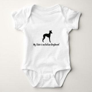 Italienischer Windhund-HundIggy Baby Strampler