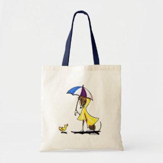 Italienischer Windhund-Regenmantel Budget Stoffbeutel