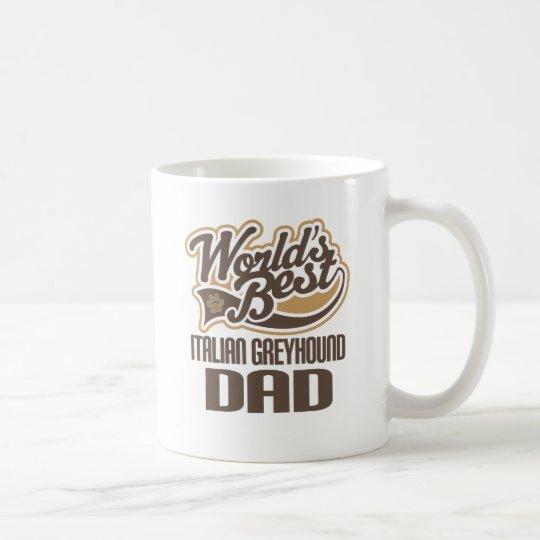 Italienischer Windhund-Vati (Welten am besten) Kaffeetasse