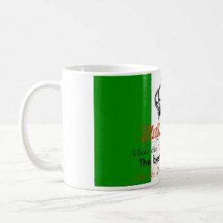 Italienisches Mädchen Kaffeetasse