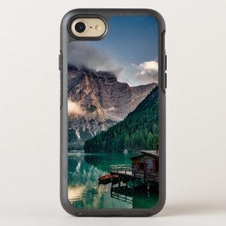 Italienisches Mountainssee-LandschaftsFoto OtterBox Symmetry iPhone 8/7 Hülle