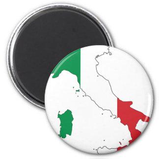 Italy_Magnet Runder Magnet 5,7 Cm