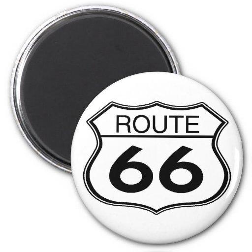 Itinéraire 66 - Aimant rond