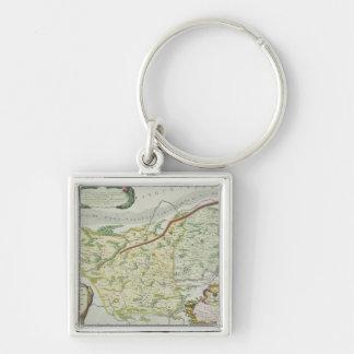 Itinéraire de Marco Polo Porte-clef