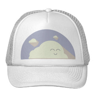 It's cloudy out there, love, it! baseballcap
