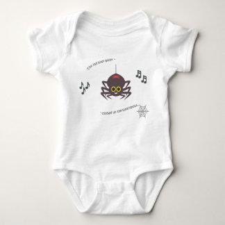 Itsy bitsy Spinne des niedlichen Baby Strampler
