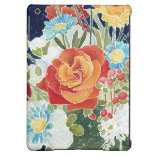 IV floral de minuit Coque iPad Air