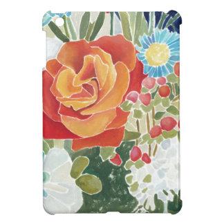 IV floral de minuit Coques Pour iPad Mini