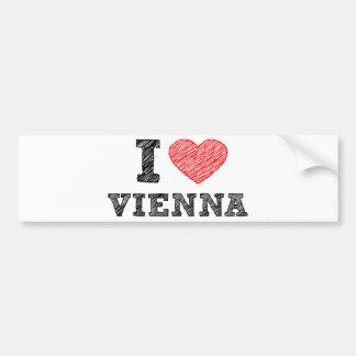 J aime Vienne Adhésif Pour Voiture