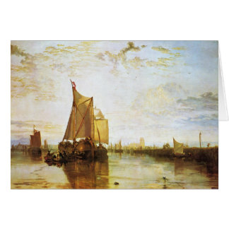 J.M.W. Turner - das Dort 1818 Grußkarte