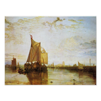 J.M.W. Turner - das Dort 1818 Poster