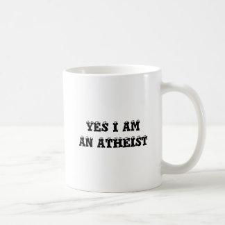 Ja bin ich ein Atheist Kaffeetasse