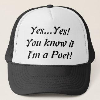 Ja bin ich ein Dichter-Fernlastfahrer-Hut! … Truckerkappe