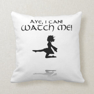 Ja kann ich Iren-Tanz-Wurfs-Kissen Kissen
